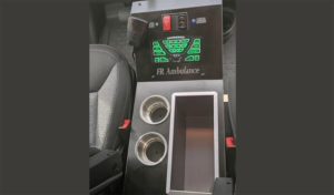 console of type ii ambulance national transport